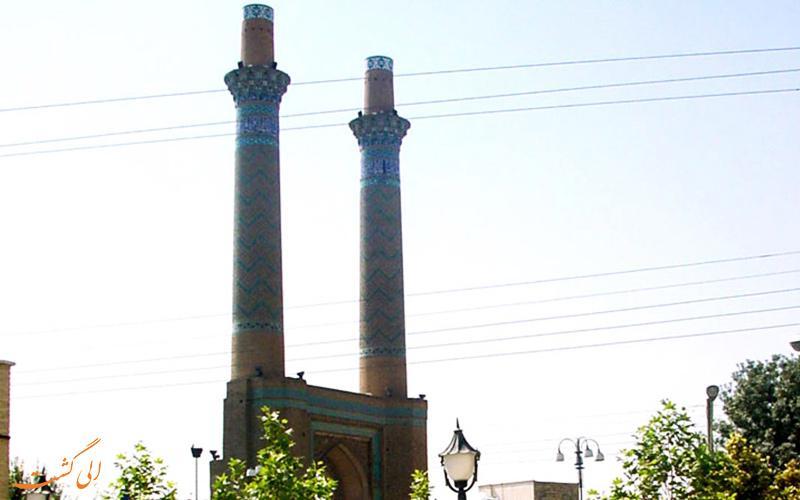 مناره های دارالضیافه در اصفهان