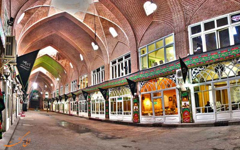 بازار مظفریه در تبریز