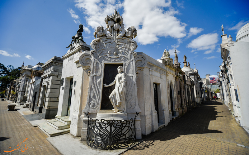 قبرستان تاریخی رکولتا در بوینس آیرس