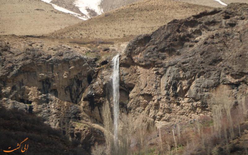 آبشار زیبای سنگان