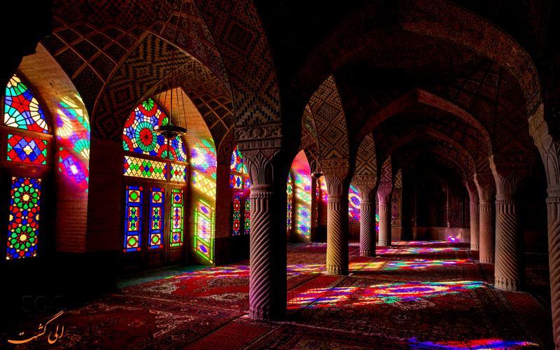 مسجد نصیر الملک - مساجد تاریخی شیراز