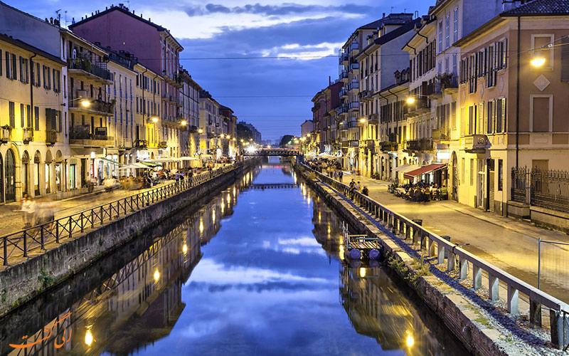 محله ناویلی در میلان