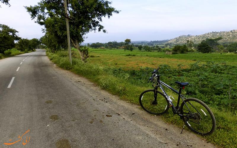 مسیر شهر بنگلور تا گوا