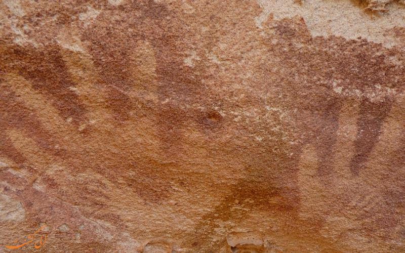 رد دست های باستانی در مصر