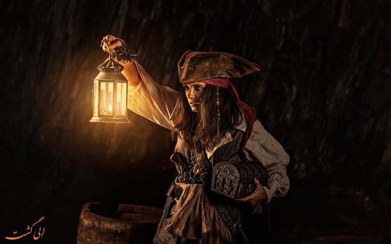 گنج دزدان دریایی کجاست؟