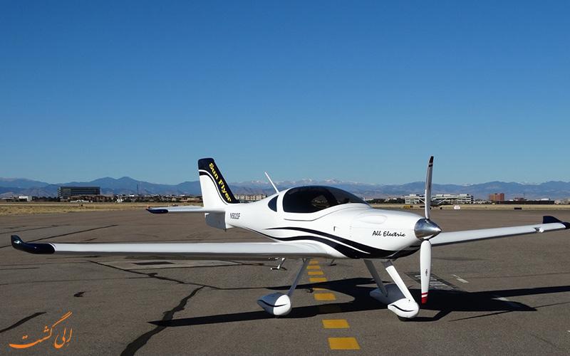 سان فلایر، اولین نسل پیشرفته ی هواپیماهای الکتریکی جهان