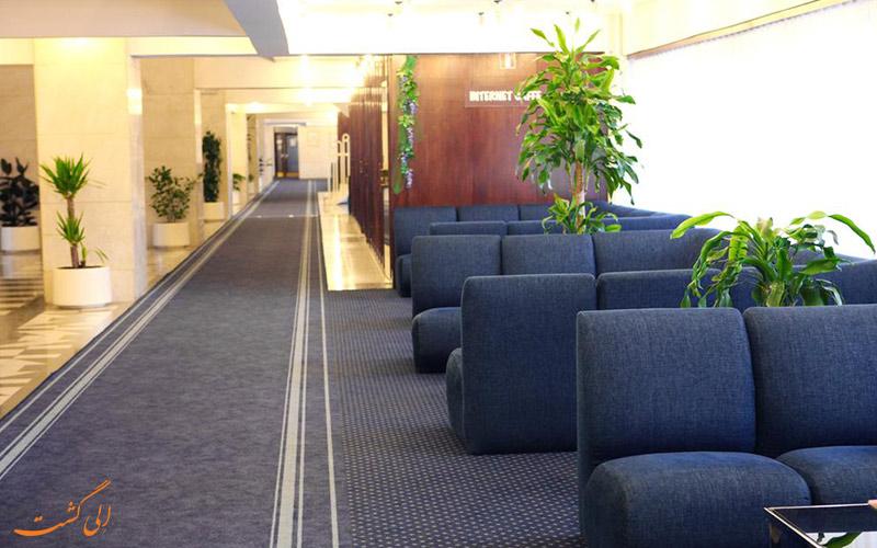 موقعیت هتل آی زاگرب