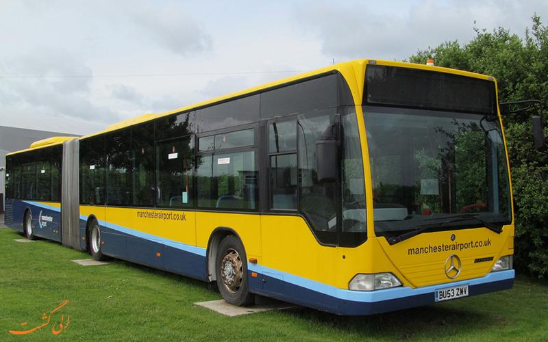 اتوبوس های فرودگاه منچستر