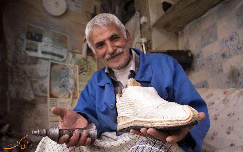 گیوه - یکی از محبوب ترین سوغاتی های ایران