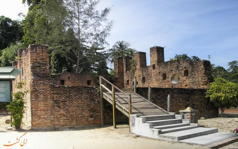 قلعه تاریخی جزیره پانگکور