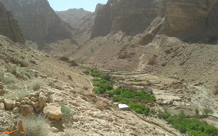 روستای قطرم در یزد