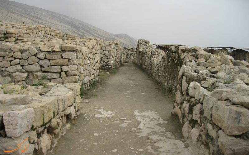 بقایای شهر باستانی بیشاپور فارس