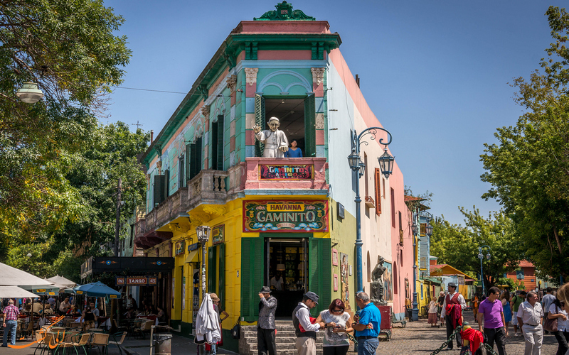 خیابان ال کامینیتو در بوینس آیرس
