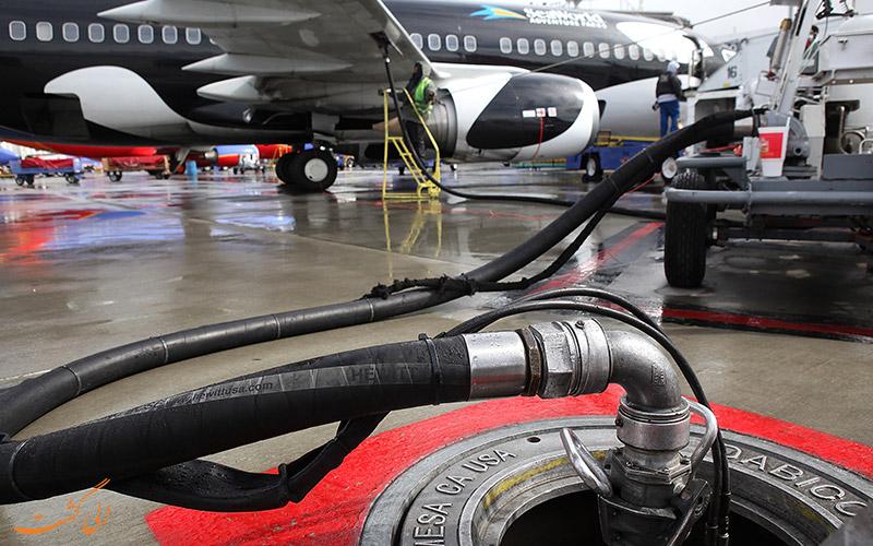 انواع سوخت های هواپیما