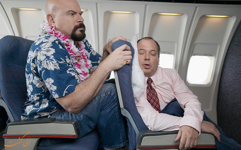 این اتفاقات عجیب و خنده دار در هواپیما رخ داده است!