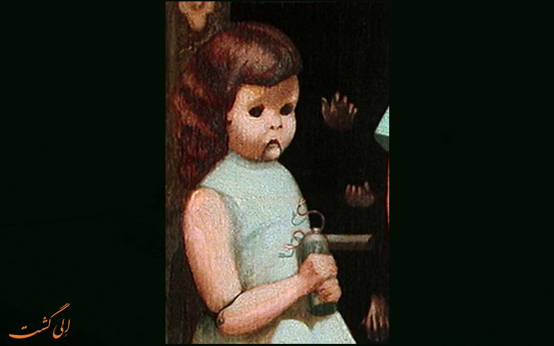 عروسک تابلوی نفرین شده2