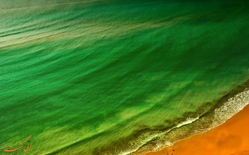 تصور کنید که آسمان نارنجی و دریا سبز باشد