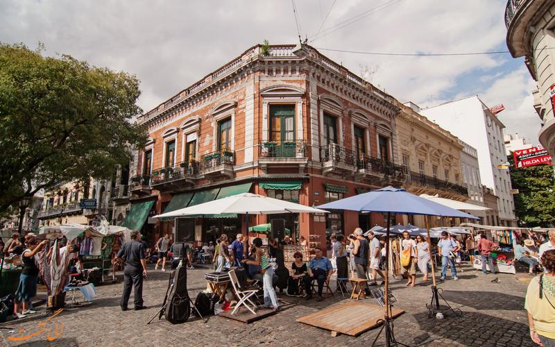 بازار سان تلمو در بوینس آیرس