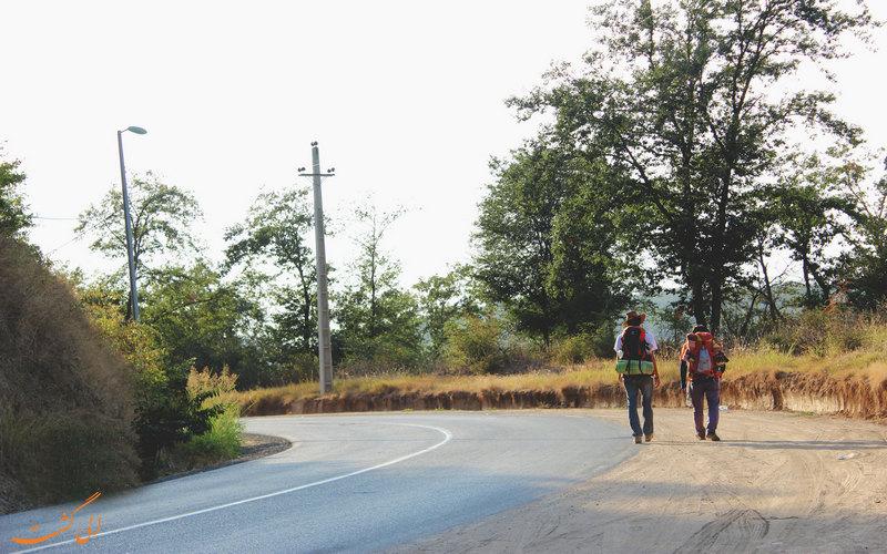مسیرهای دسترسی به گلستان