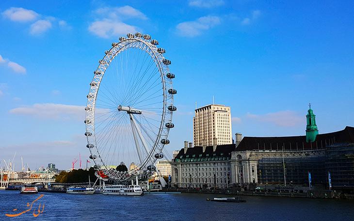 جاذبه ی دیدنی لندن