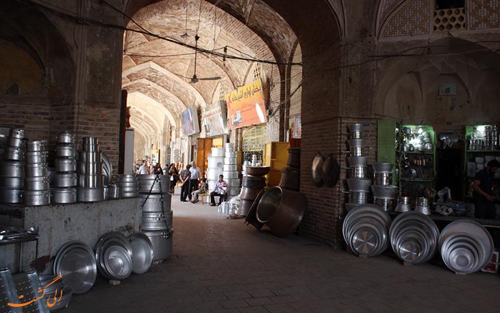 بازار مسگرها در کرمان