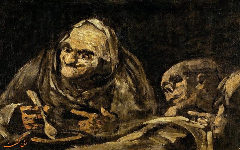 نقاشی مراسم گناه خواری