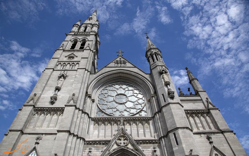 نمایی از کلیسای سنت پیتر در ایرلند