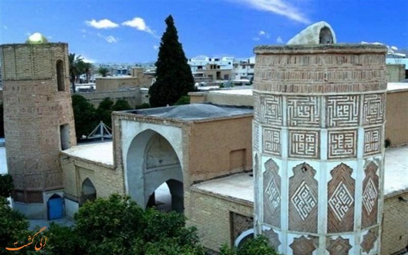 معماری با شکوه مسجد داراب