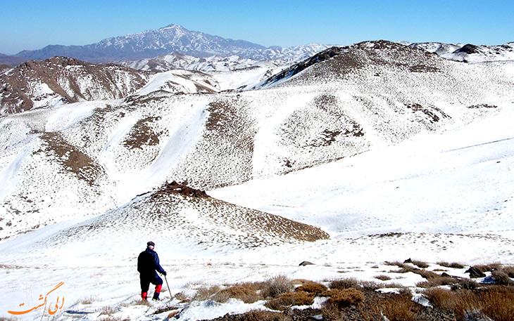 برف در روستای سیرچ