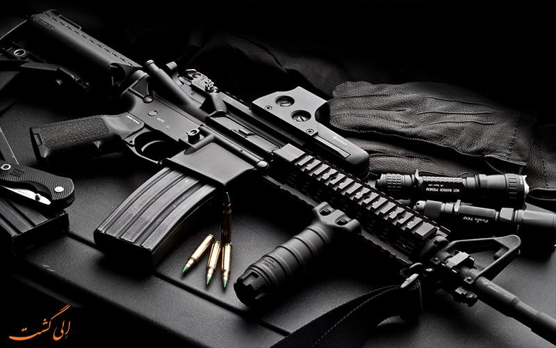 انواع اسلحه