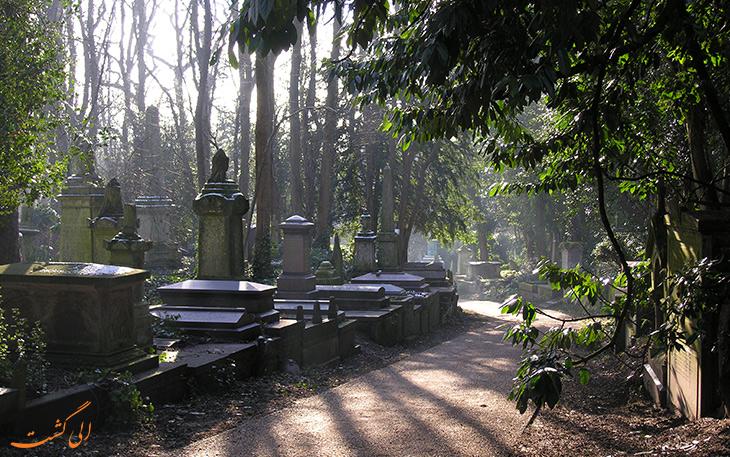 قبرستان قدیمی هایگیت در انگلیس