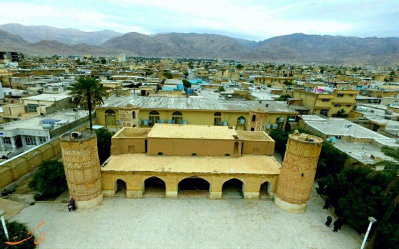 مسجد جامع داراب از بالا