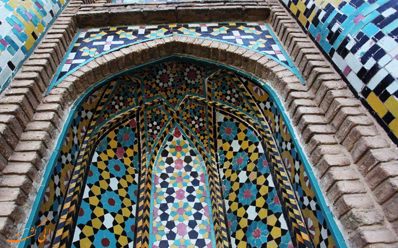 تزئینات دروازه ارگ سمنان