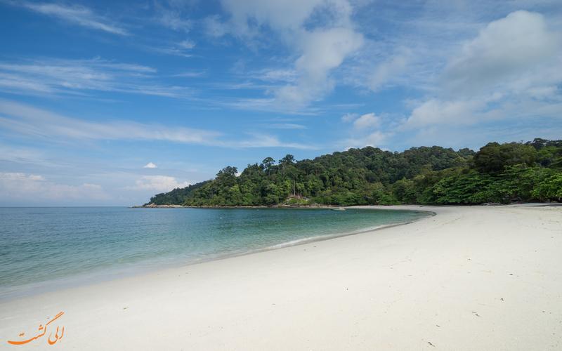 ساحل نیپاه در جزیره پانگکور