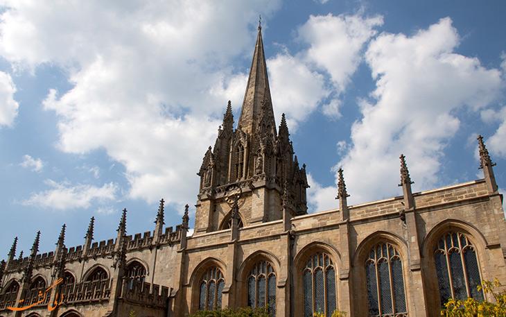 کلیسای سنت ماری آکسفورد در انگلیس