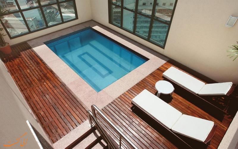 هتل 4 ستاره لاز پلازا سائوپائولو