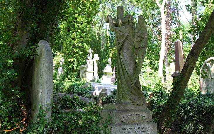 دفن افراد سرشناس در هایگیت
