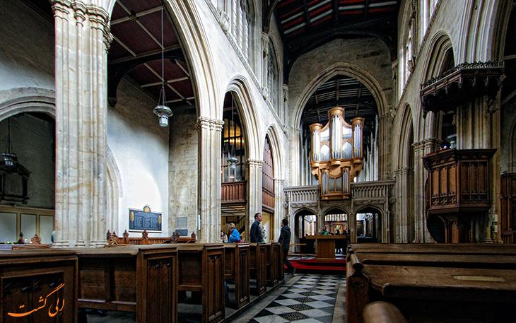 نمایی از داخل کلیسای سنت ماری