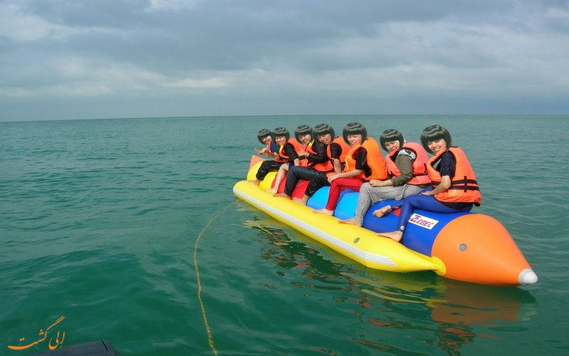 تفریحات آبی در جزیره پانگکور مالزی