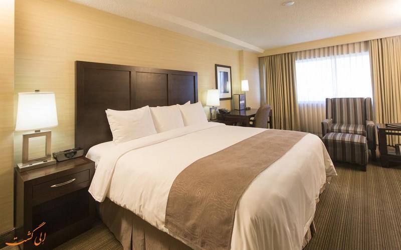 اتاق های هتل رادیسون ساسکاتون