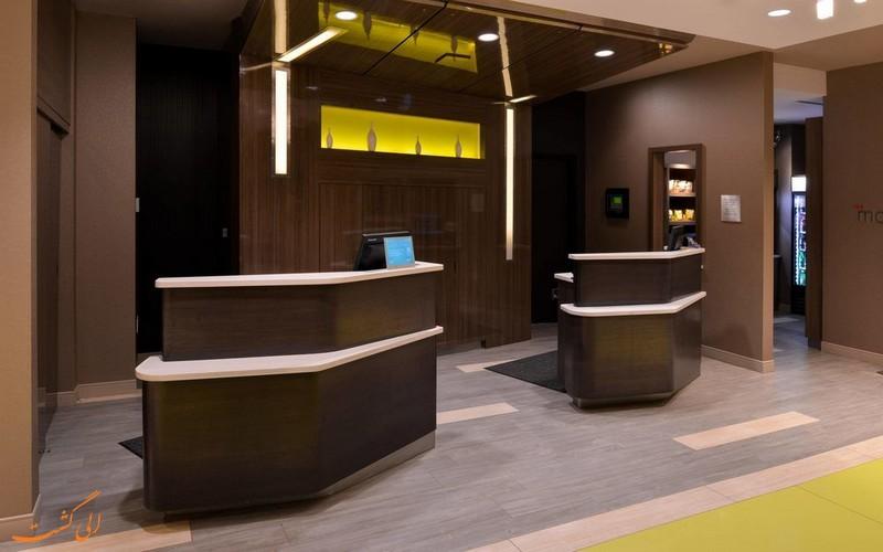 هتل 3 ستاره کورتیارد مریوت ایرپورت