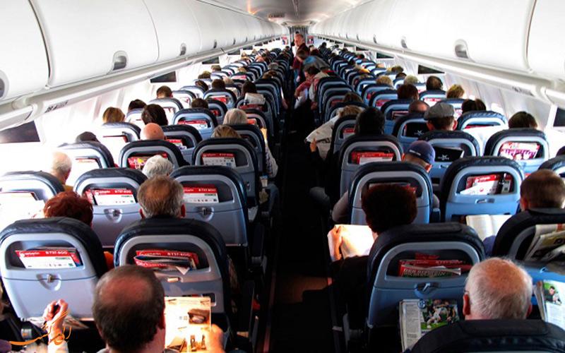 انتقال سریع بیماری در هواپیما