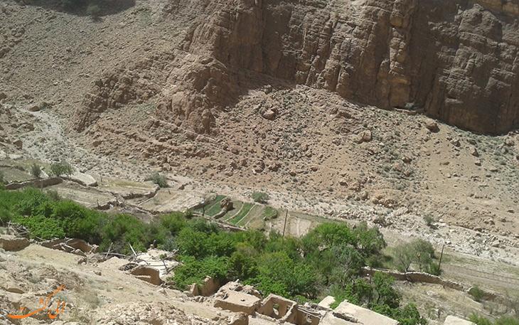 روستای قطرم در استان یزد