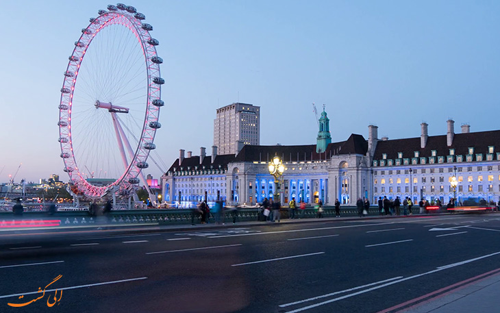 نمایی از چشم لندن