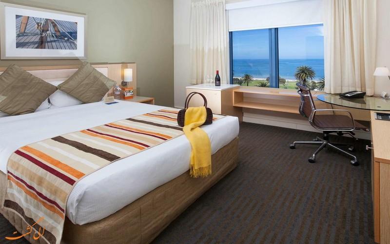 اتاق های هتل نووتل در ملبورن