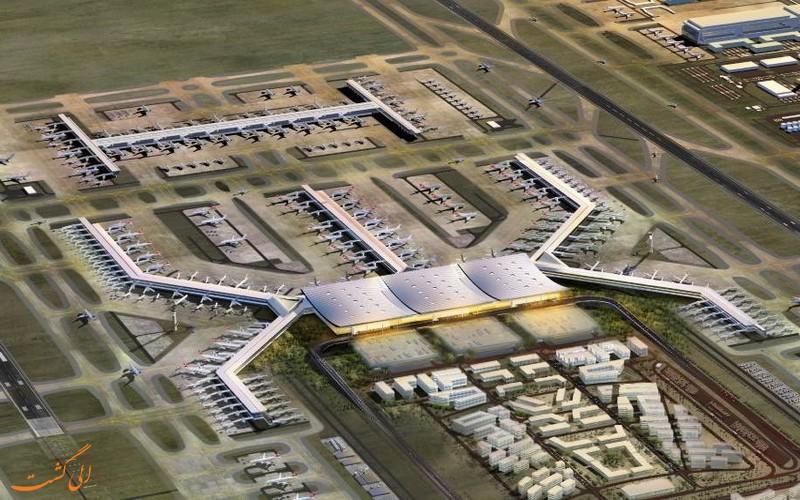 فرودگاه جدید شهر استانبول