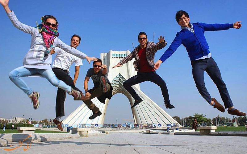 آزادی- بهترین مکان ها برای گرفتن عکس در ایران