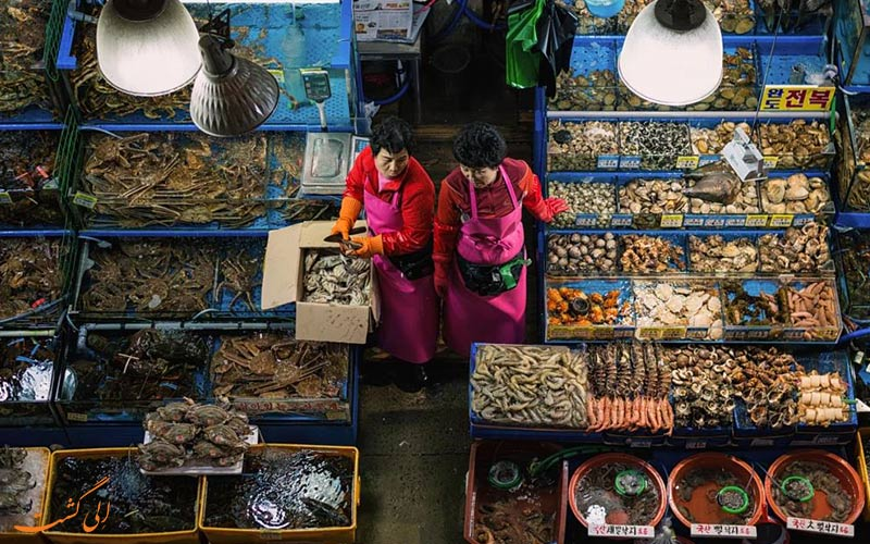بازارهای کره جنوبی