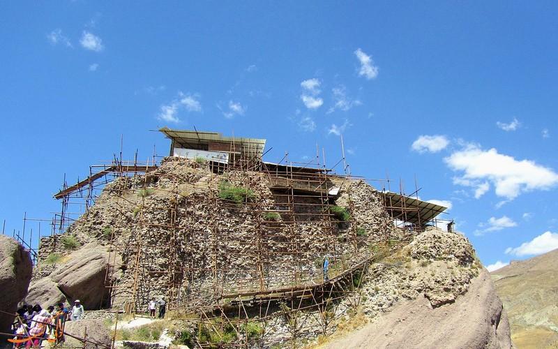 دژ الموت در قزوین