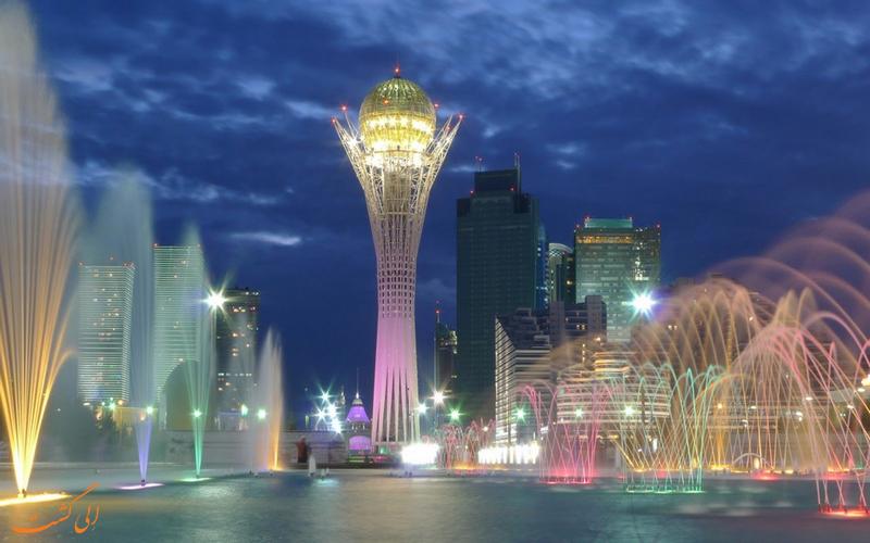 آسیا و اروپا قزاقستان